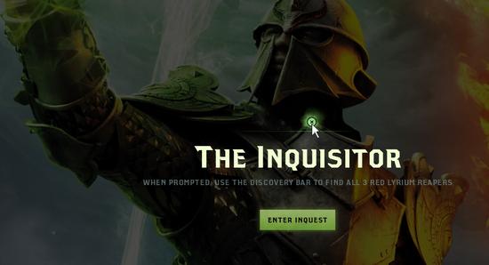 Inquisitor Inquest Interface