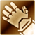 Heavy gloves gold DA2