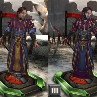 Tier progression of Jowan in <i>Heroes of Dragon Age</i>