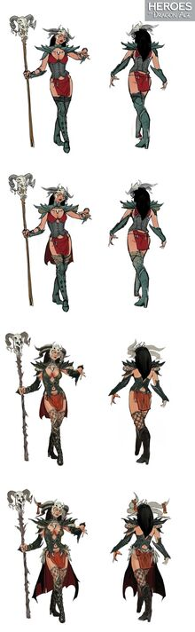 Character tier progression for Yavana