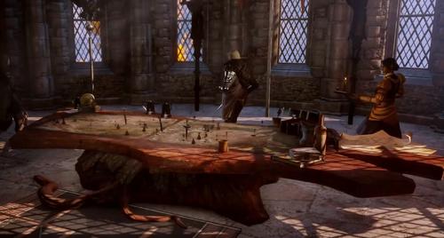 War Table Display
