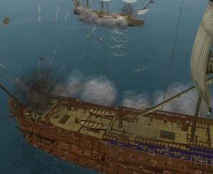 Fleet battle