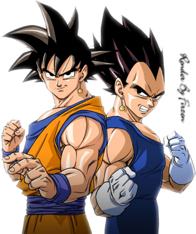 File:Goku and vegeta.png