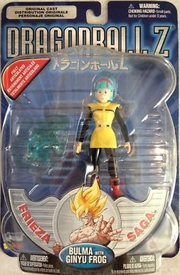 Bulma withginyu frog metallic