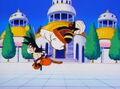 MrPopo kicks out a dragonball