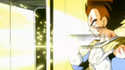 Calling the Eternal Dragon - Vegeta stops attack