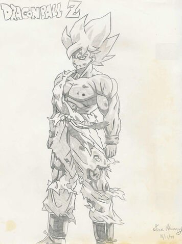 File:DBZ SS Goku Drawn by kaoscorp.jpg