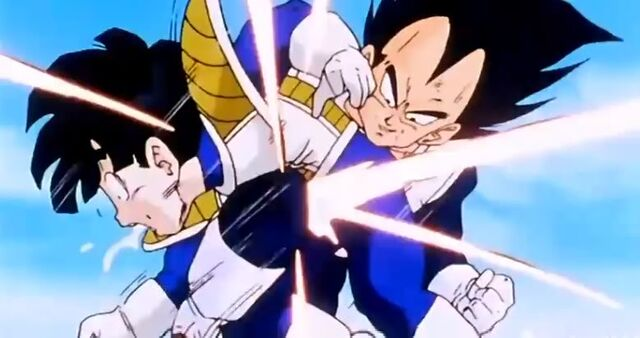 File:Gohan is attack by vegeta.jpg