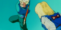 Future Trunks' sword