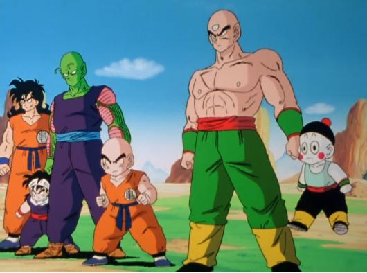 File:Z Fighters vs Saiyans 1.JPG