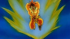 False Goku Axe Handle