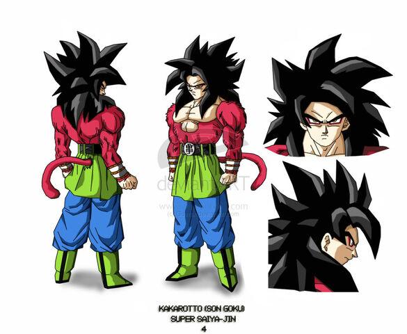 File:Goku AF SSJ4 by Gothax.jpg
