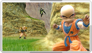 File:Krillin, Nappa, and Cell Zenkai Royale.jpg