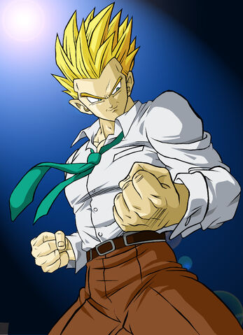 File:Coloured Gohan SSJ GT by kingvegito.jpg
