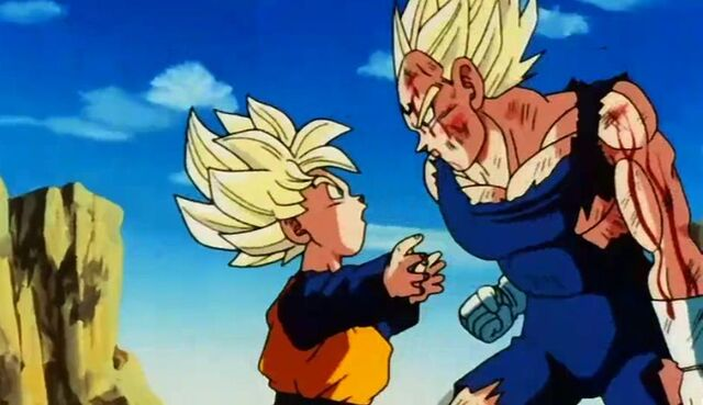 File:Vegeta attacks goten.jpg