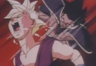 File:Turles attacks gohan in plan to eadacte the saiyans5.png