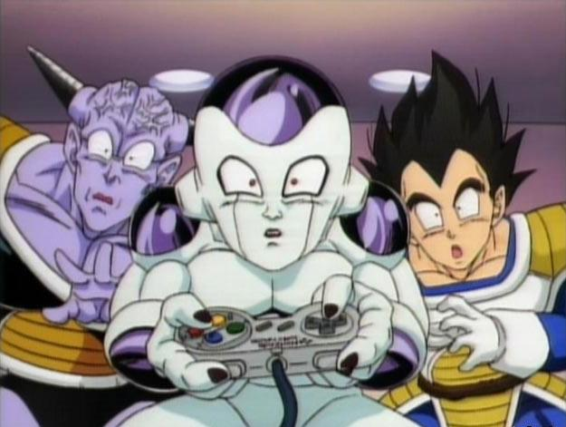 File:Ginyu, Frieza, and Vegeta playing SNES.jpg