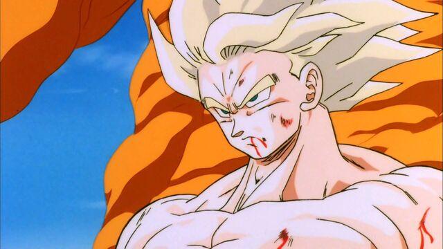 File:Goku Un-Affected By Blast.jpg