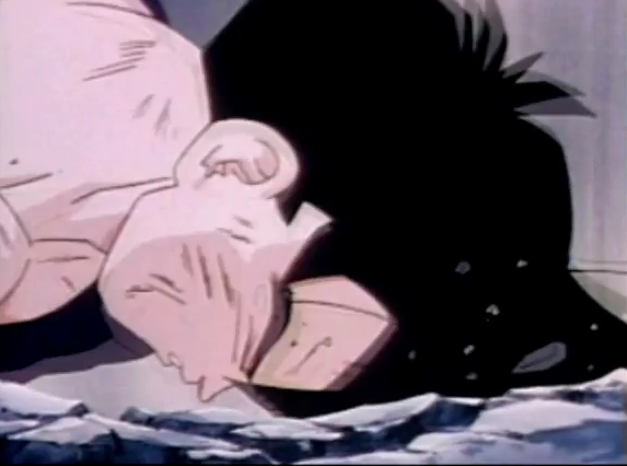 File:Gohan fells to ground dead and defeated after being killed by turles in plan to eadacte the saiyans3.png