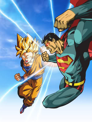 File:Superman vs goku by xikinight.jpg