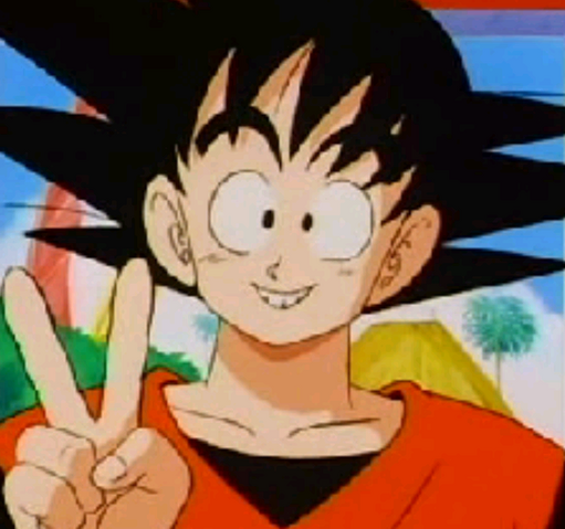 File:Teen Goku Peace.PNG