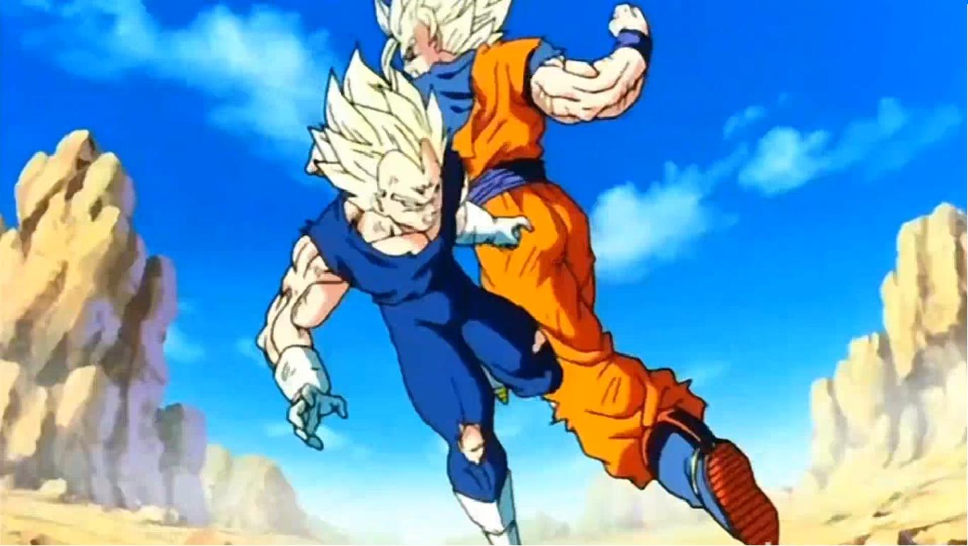 Dragon Ball z Battle of z Majin Vegeta Goku And Majin Vegeta Battle