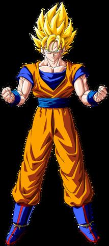 Archivo:Goku Super Saiyan - By Yassir Narkemonball.png