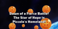 Dawn of a Fierce Battle! The Star of Hope is Piccolo's Homeland!