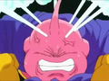 The Evil of Men - Majin Buu angry and releases the evil inside him
