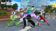 DBXV2 Time Patrollers We Are The... Ginyu Force (Team Fighting Pose)