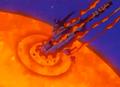 Hidden Danger - Starship destroyed