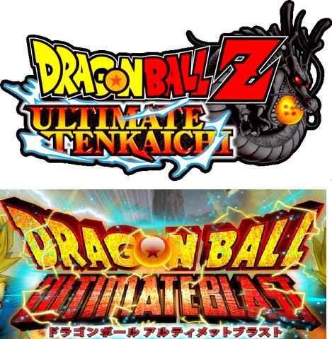 File:Dragonball Z Ultimate Tenkaichi Blast logo.png