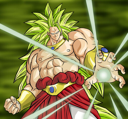 File:Coloured Broly SSJ3 by kingvegito.jpg
