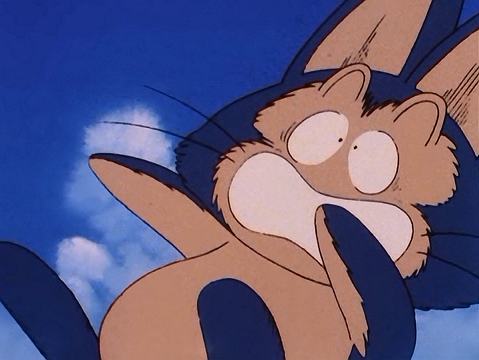 File:Puar being pulled to the ground by Bulma.png