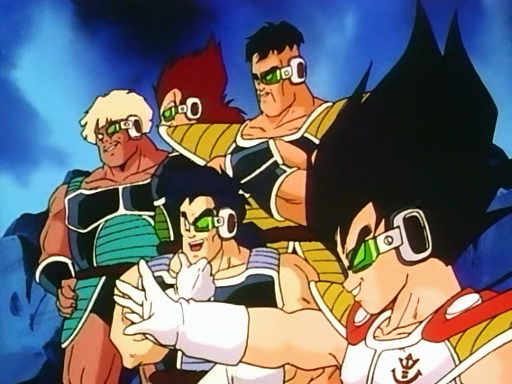 King Vegeta And Prince Vegeta Prince Vegeta Nappa And Three