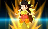 KF Kid Goku (SS3 Broly)