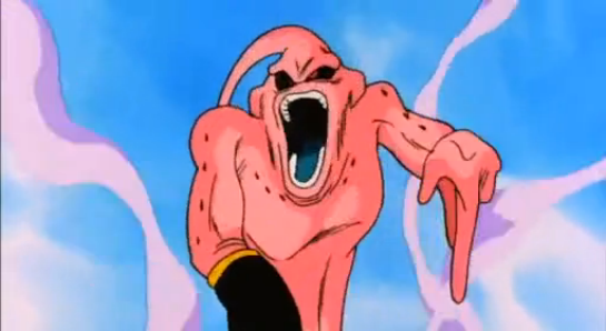 File:Trapped in Forever - Super Buu after hit by Super Ghost Kamikaze.PNG