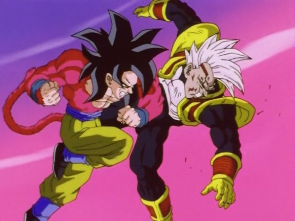 Baby vegeta vs goku super saiyajin 4 dragon ball wiki - Goku vs vegeta super saiyan 5 ...