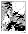 Frieza spots Goku's Large Spirit Bomb