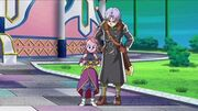 DBXV Supreme Kai of Time & Future Trunks looking at the Scroll of Eternity Xenoverse Intro 10014583 791130770942540 2750955195088557904 n