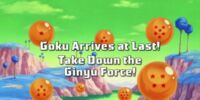 Goku Arrives At Last! Take Down the Ginyu Force!