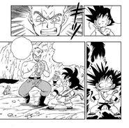 General Blue paralyzes Goku