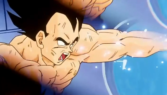 File:Goku's Ordeal - Vegeta Training.png