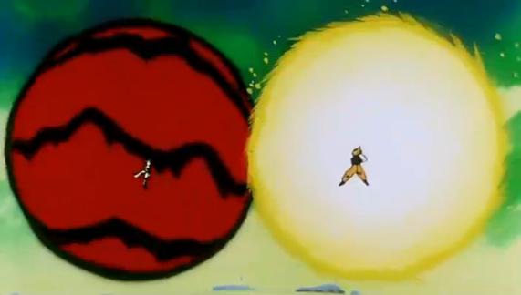 File:Namek's Destruction - Goku vs Frieza.PNG