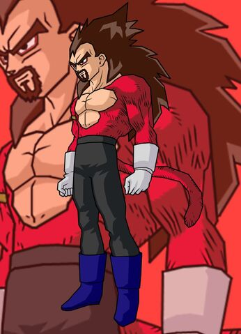 File:King Vegeta SSJ 4 by Gokuten.jpg
