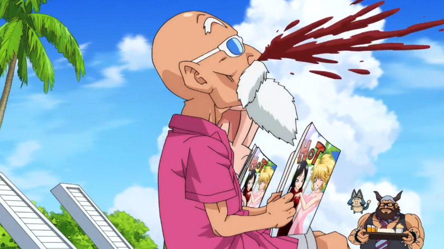 Image result for master roshi