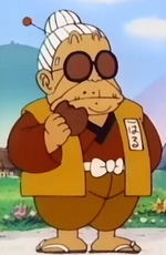 Old woman spring dragonball