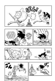 Korin stops Goku from getting the Sacred Water
