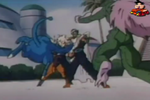 Kinkarn punched gohan in the gut