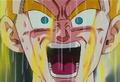 Trunks becoming Super Saiyan